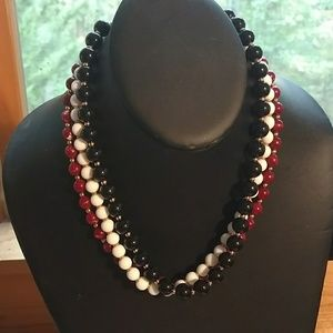 Three vintage Necklaces, Monet, Napier
